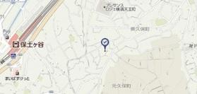 グランカーサ横浜案内図
