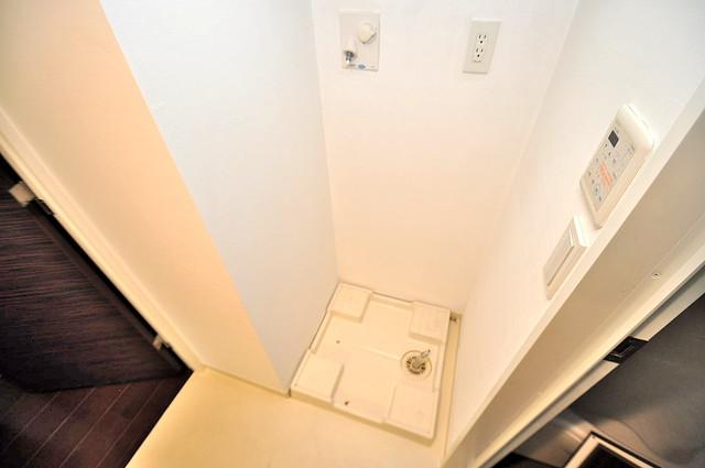 セレッソコート八戸ノ里ハートランドイーストビュー 室内に洗濯機置き場があれば雨の日でも安心ですね。