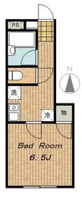 南大沢駅 車9分2.7キロ1階Fの間取り画像