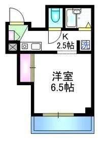 アビ・コート4階Fの間取り画像