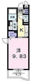 登戸駅 徒歩15分3階Fの間取り画像