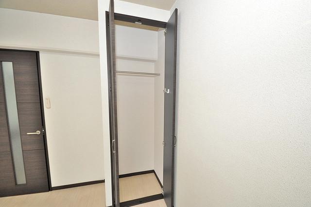 レジデンスやまびこ もちろん収納スペースも確保。いたれりつくせりのお部屋です。