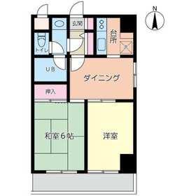 鶴見駅 徒歩5分3階Fの間取り画像