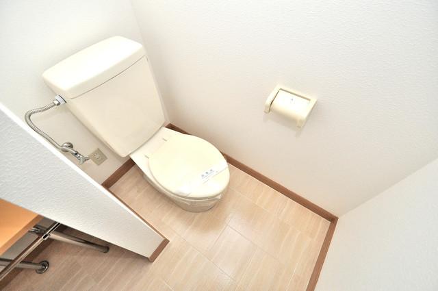 アートメゾン 清潔感のある爽やかなトイレ。誰もがリラックスできる空間です。