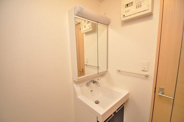 ディオーネ・ジエータ・長堂 豪華な洗面台はもちろんシャンプードレッサー完備です。