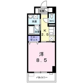ミルト ブリーゼ S1階Fの間取り画像