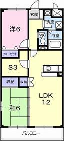 大和駅 徒歩6分2階Fの間取り画像