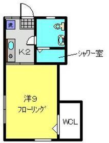 PAO71階Fの間取り画像