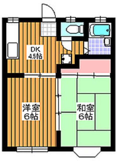 地下鉄赤塚駅 徒歩14分間取図