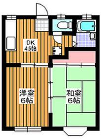 東武練馬駅 徒歩23分1階Fの間取り画像