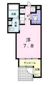 カーサレフィナート1階Fの間取り画像