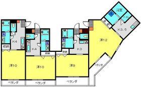 横浜元町ガーデン183階Fの間取り画像