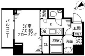 ファインクレスト護国寺10階Fの間取り画像