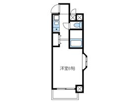モナークマンション海老名壱番館1階Fの間取り画像