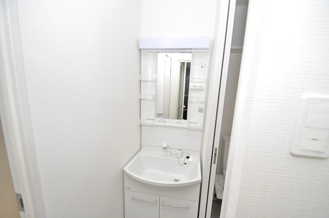 ヴェルドミール小阪 人気の独立洗面所にはうれしいシャンプードレッサー完備です。