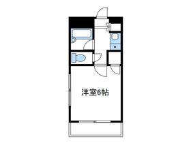 恭和コーポ南台3階Fの間取り画像