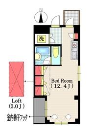 Villa Luce3階Fの間取り画像