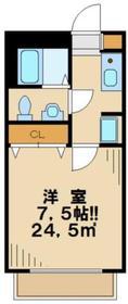 Y´s HOUSE1階Fの間取り画像