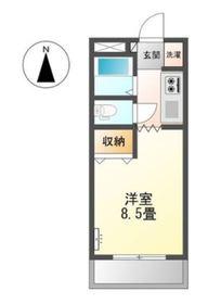 グランチェスタ Ⅱ1階Fの間取り画像