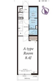 リブリ・シティ川崎3階Fの間取り画像