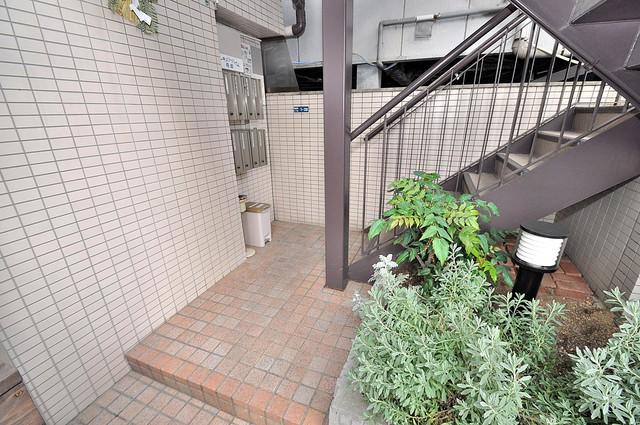 マーキュリーハイム飛田 この階段を登った先にあなたの新生活が待っていますよ。