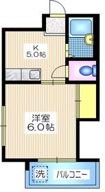 レジデンス菅野4階Fの間取り画像