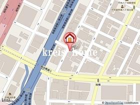 アーバネックス八丁堀案内図