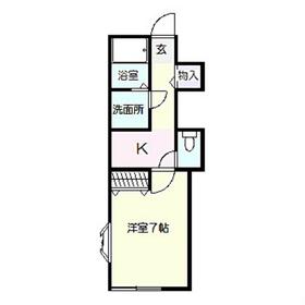 プレミール3階Fの間取り画像