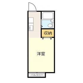 プルミエ2階Fの間取り画像