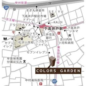 COLORS GARDEN案内図
