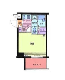 トーシンフェニックス新横濱イクシール9階Fの間取り画像
