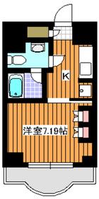 サンロイヤル成増ヶ丘8階Fの間取り画像