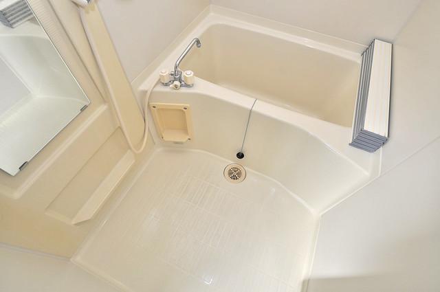 カーサAY 機能的なバスルームはトイレと別々なので、広々としていますよ。