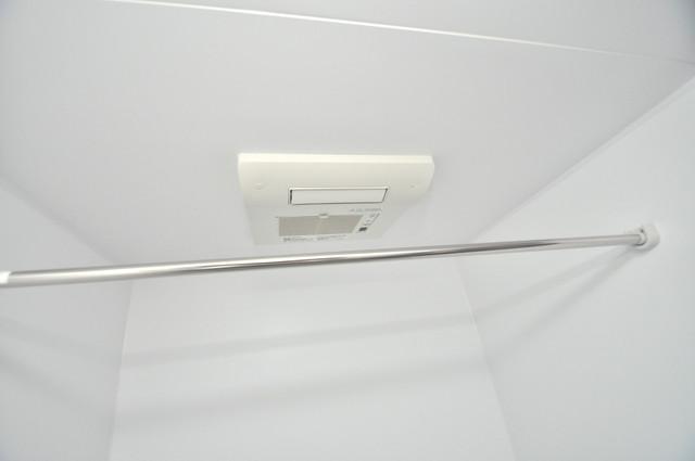 クリエオーレ巽南 浴室乾燥機付きで梅雨の時期も怖くありません。