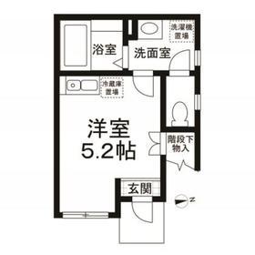 (仮称)世田谷区桜丘1丁目計画1階Fの間取り画像