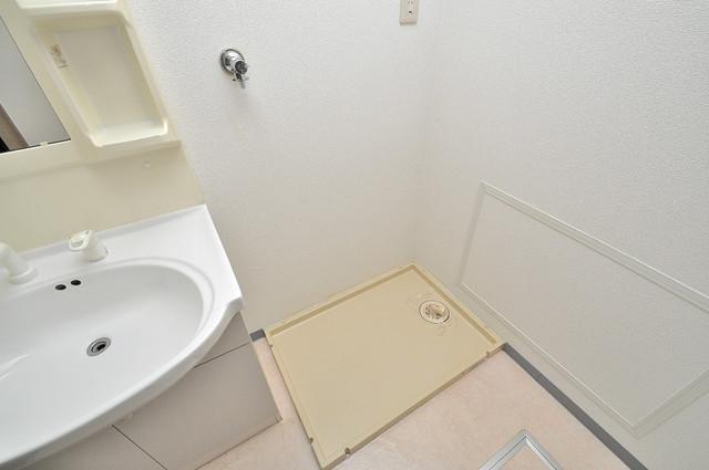 ソレアード三貴 室内に洗濯機置き場があれば雨の日でも安心ですね。