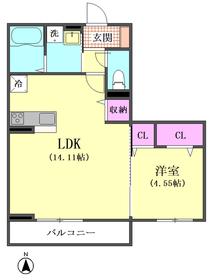アンソレイユ 301号室