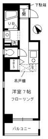 お茶ノ水リバーサイド2階Fの間取り画像