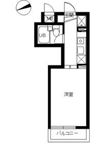 スカイコート横浜富岡3階Fの間取り画像