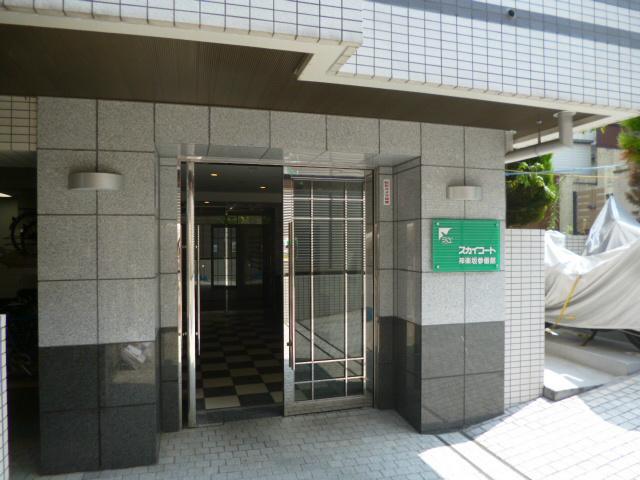 スカイコート神楽坂参番館エントランス