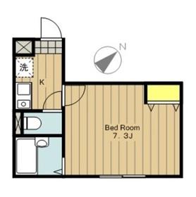 ロッシェル相模原21階Fの間取り画像