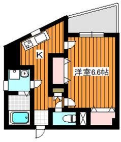 サングレース赤塚A2階Fの間取り画像