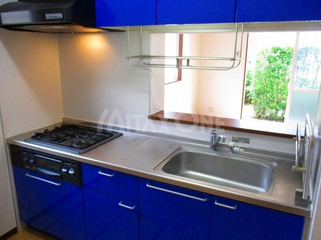 グリーンヴィラスリー(グリーンヴィラ3)キッチン