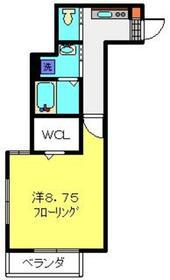 ソレイユ2階Fの間取り画像
