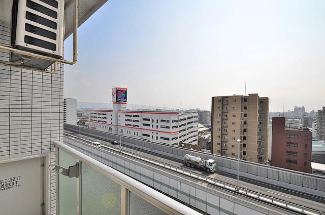 Gransisu Takaida この見晴らしが日当たりのイイお部屋を作ってます。
