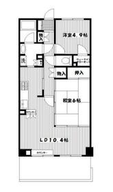 東戸塚駅 徒歩8分2階Fの間取り画像