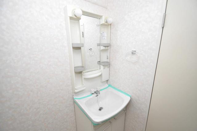 サンリッツ巽 人気の独立洗面所はゆったりと余裕のある広さです。