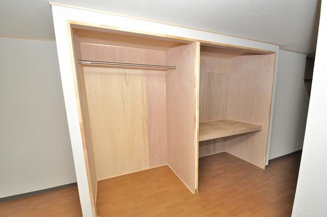 寺前町1-1-27 貸家 もちろん収納スペースも確保。いたれりつくせりのお部屋です。