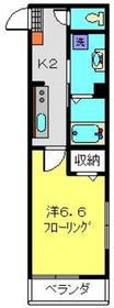 ビューノ上大岡2階Fの間取り画像