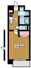 ヴァンテミサ3階Fの間取り画像